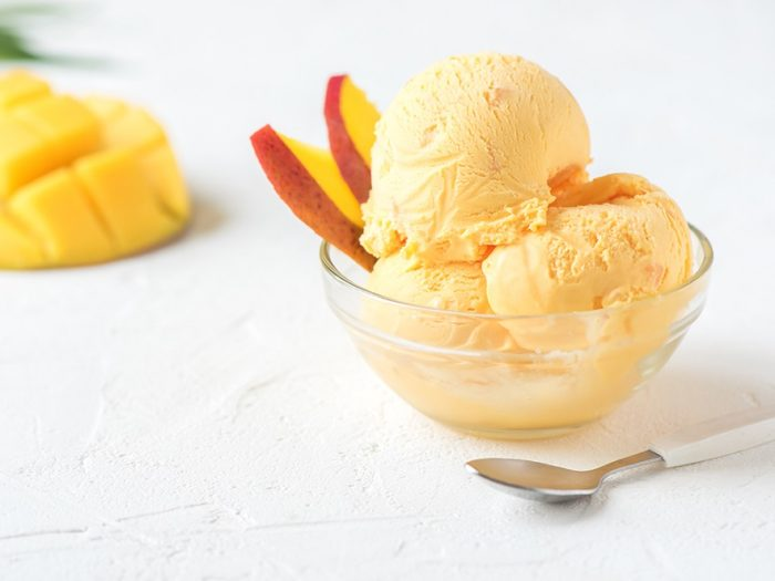 Frozen Mango Yogurt Recipe