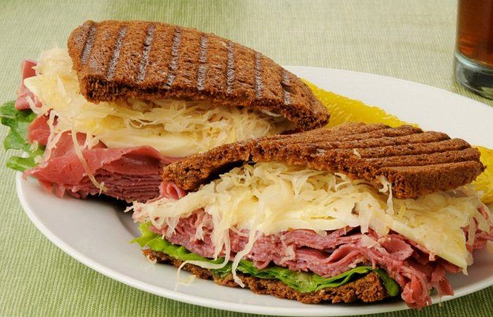 Vegetarian Reuben Sandwich Recipe