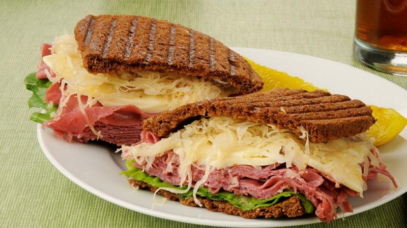 Vegetarian Reuben Sandwich Recipe