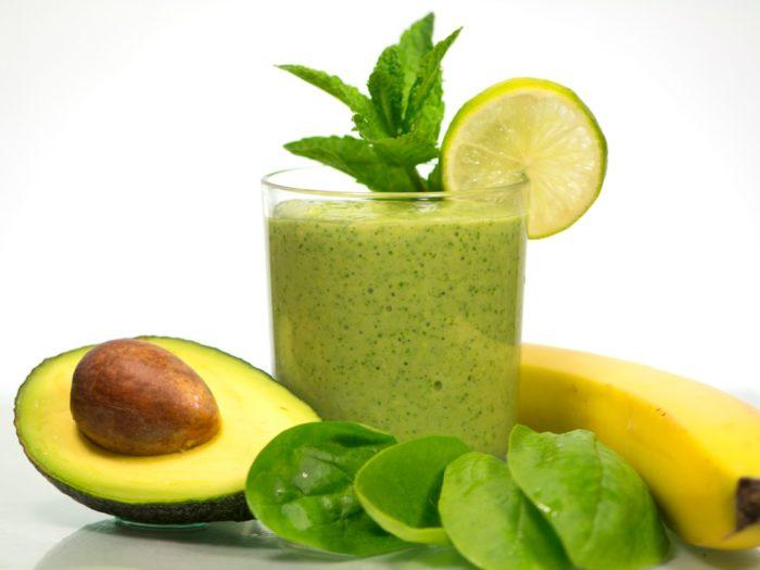 healthy Green vegetables Detox Smoothie Recipe
