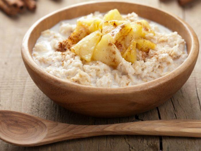 Cinnamon peanut butter overnight oats Recipe