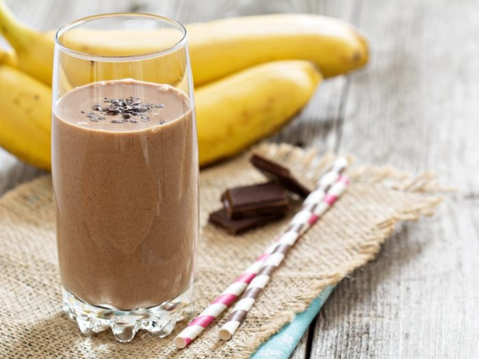 Banana Chocolate Almond Smoothie Recipe