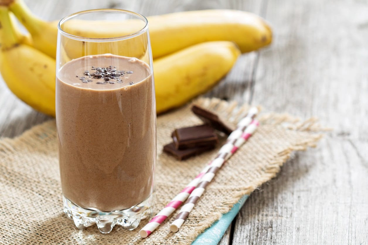 Banana Chocolate Almond Smoothie Recipe