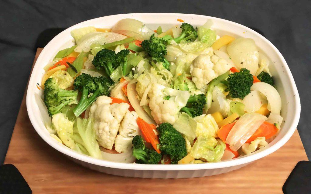 FLavorful Steamed Veggies