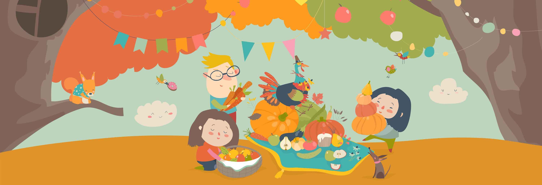 thanksgiving-vegetarian-children