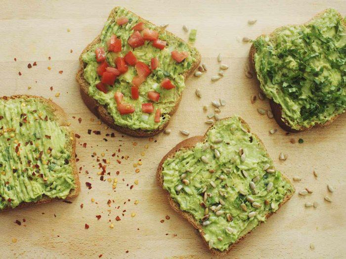 Bread Avocado recipe