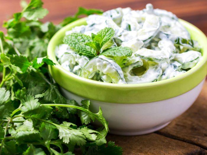 Cucumber and Mint Raita