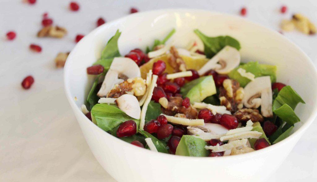 Pomegrate-salad