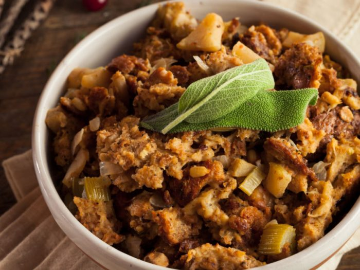 vegetable nut stuffing
