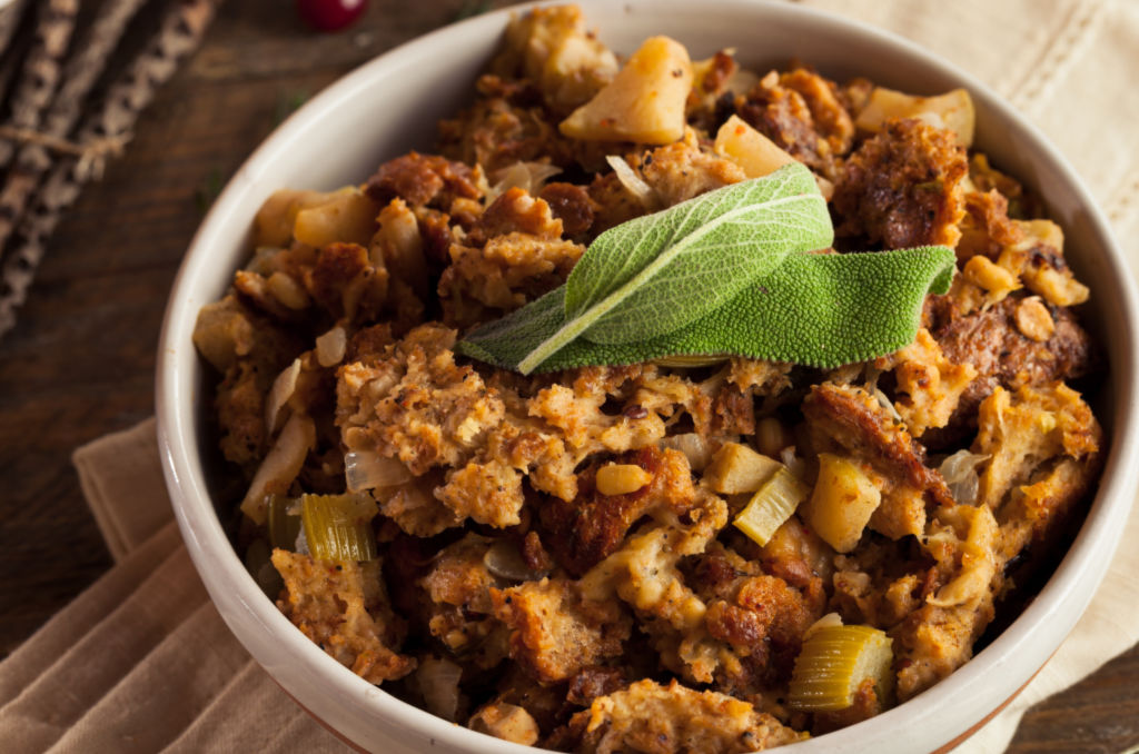 vegetable nut stuffing