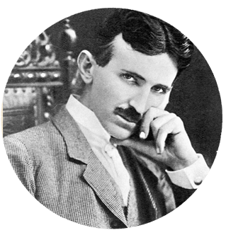Nikola Tesla vegetarian
