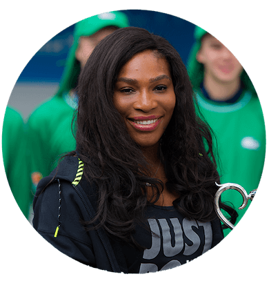serena williams vegan