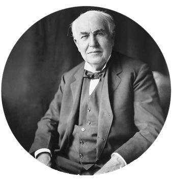 thomas edison vegetarian