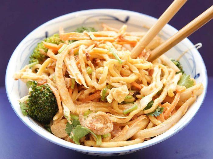 Burmese Noodle Salad recipe