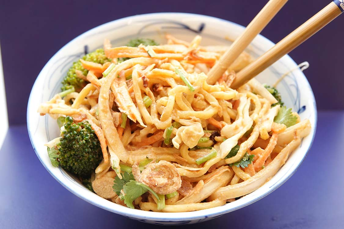 Burmese Noodle Salad recipe