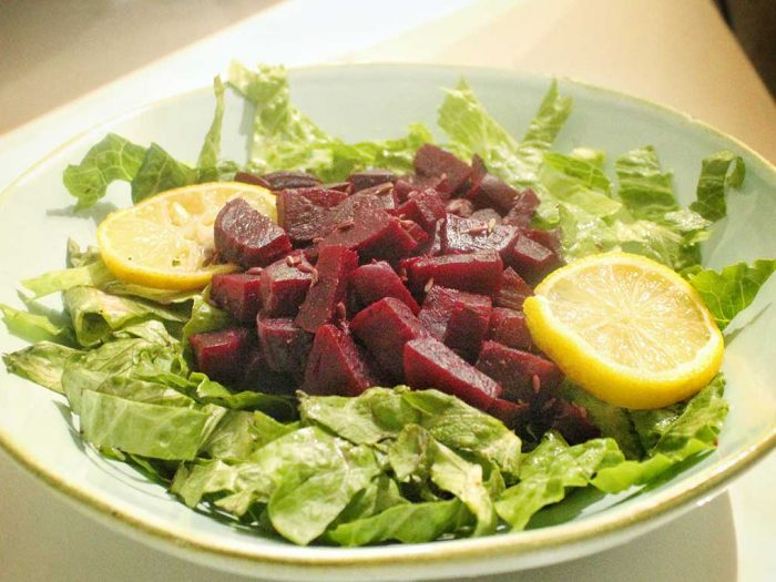 Mediterranean beet salad recipe