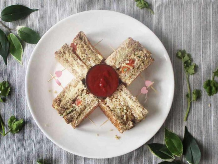 Mid-Eastern-Triple-Decker-Sandwich