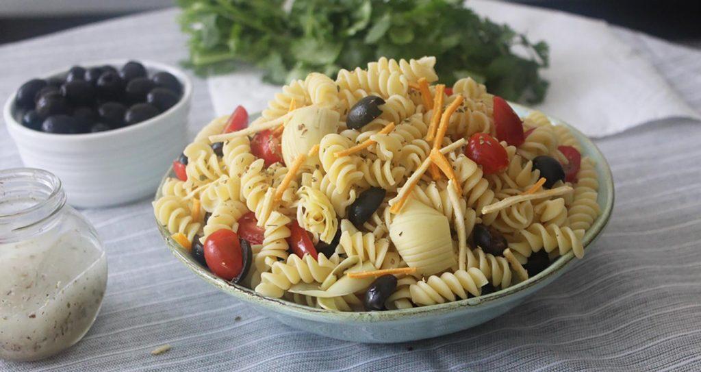 Olive Pasta Salad