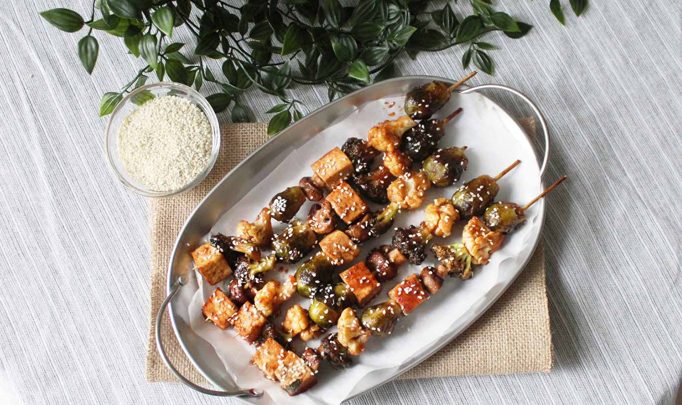 skewered-Vegetable-Teriyaki