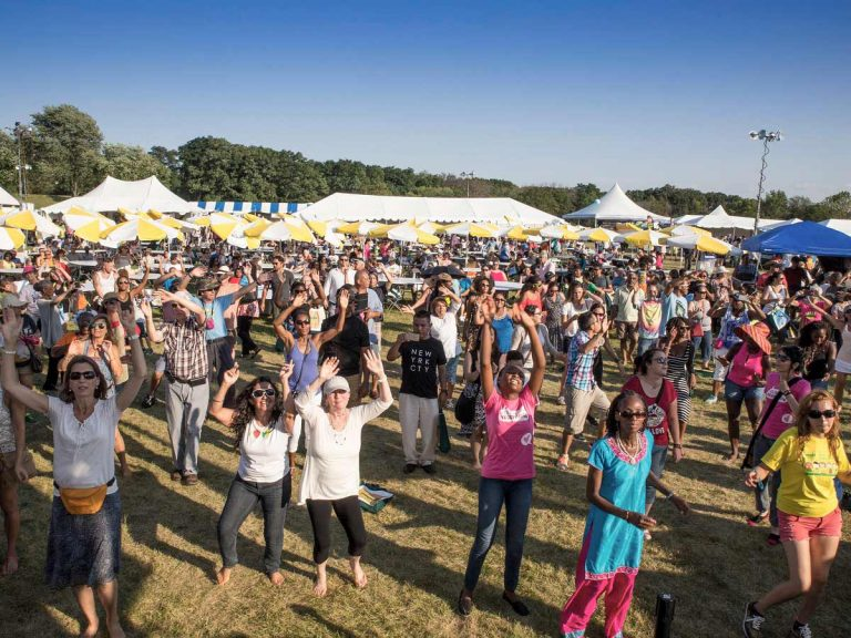 Veggie Fest Dancing With Live Music
