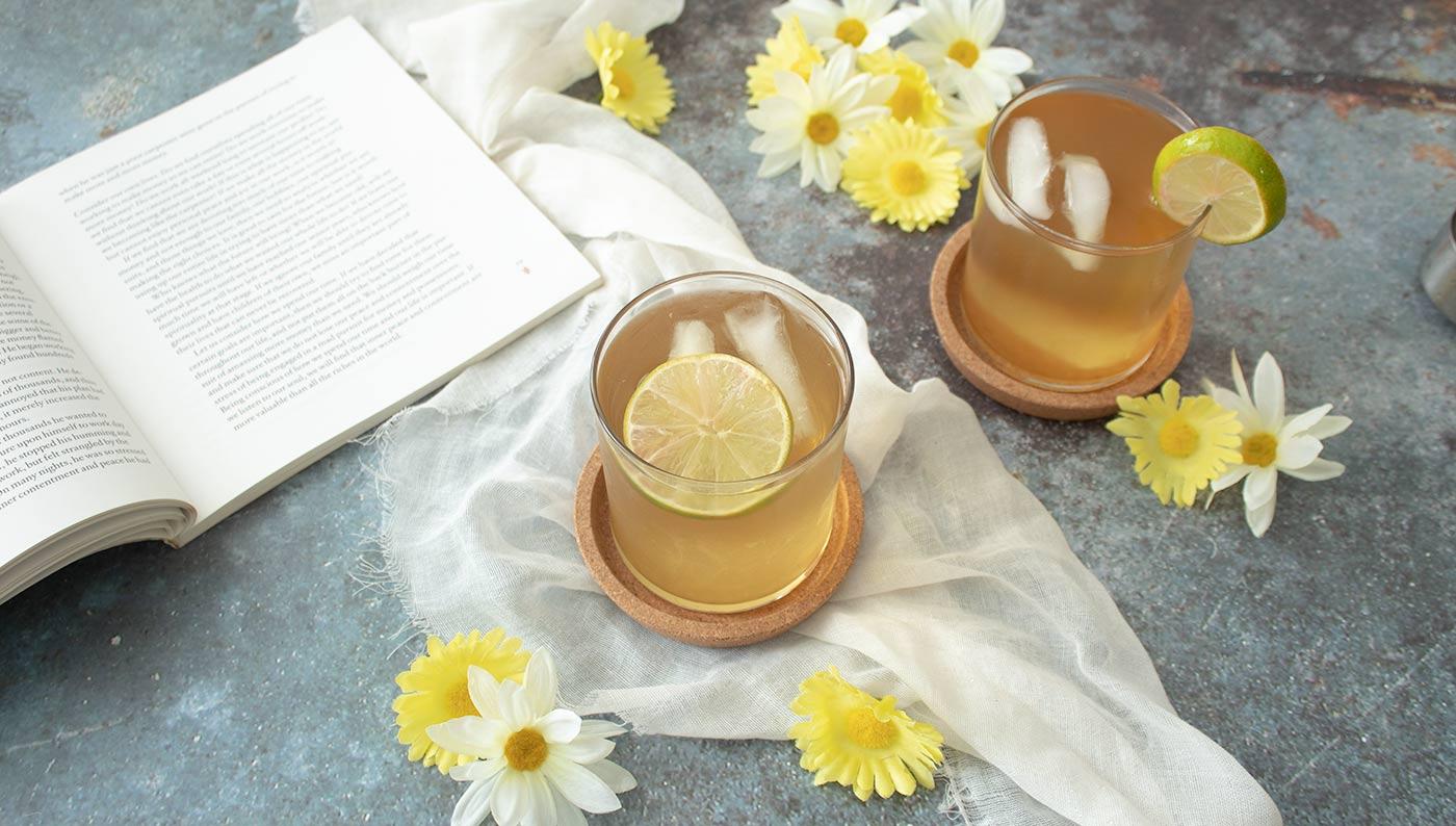 Té de bálsamo de limón