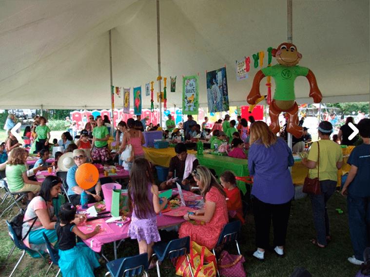 children_activities veggie fest