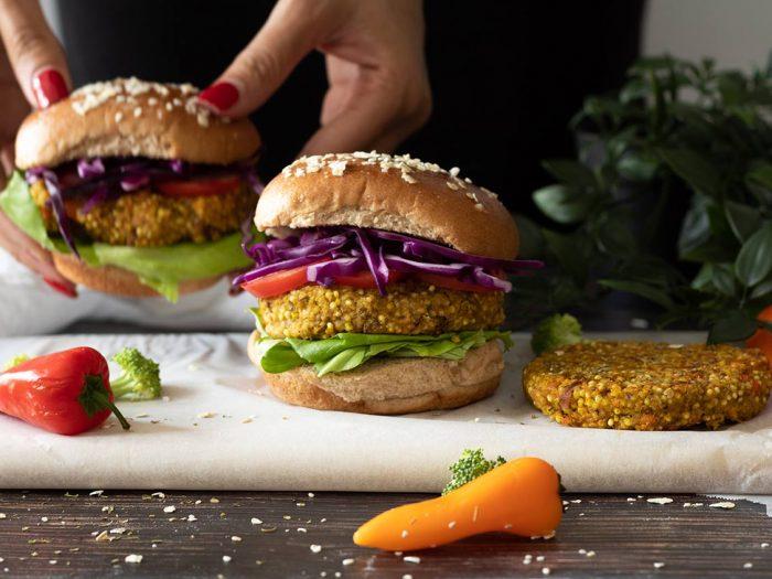Lentil-Millet-Sweet-Potato-Plant-based-Burger-1