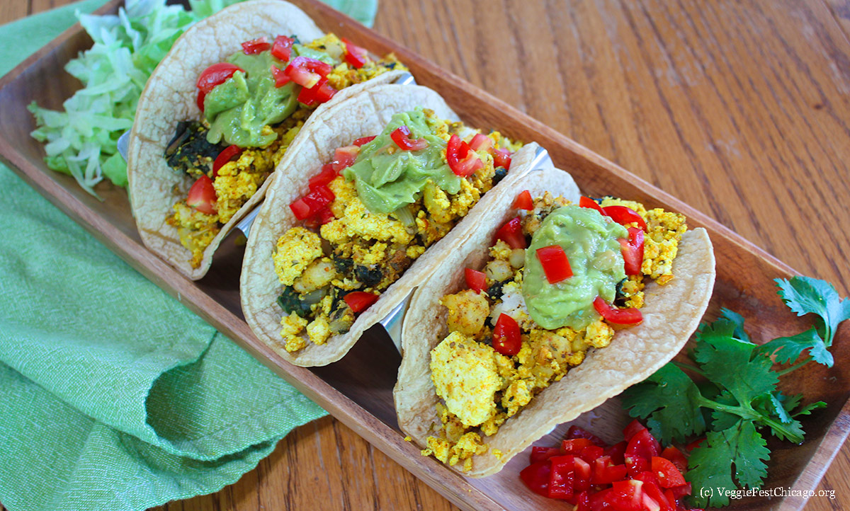 Tacos For Breakfast Recipe Veggie Fest