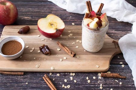 Apple-Cinnamon-Overnight-Oats