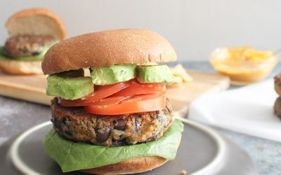 Blackbean-Burger