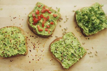Bread Avocado recipe