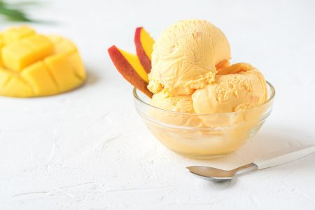 Frozen Mango Yogurt Recipe