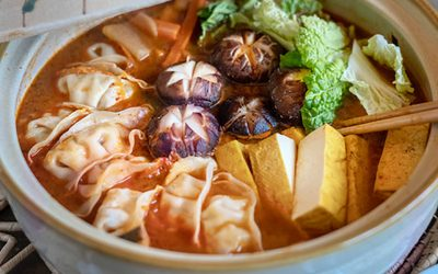 Hotpot, -Kimchi-Gyoza-Nabe