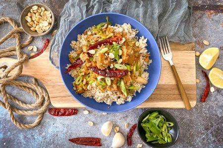 Kung-Pao-Non-Chicken-Chicken- (Vegan) -w