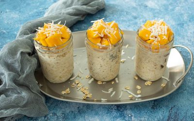 Mango-Coconut-Oats