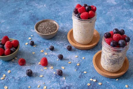 Mixed-Berry-Overnight-Oats