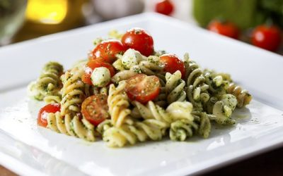 Pasta Salad with Pesto Dressing Recipe
