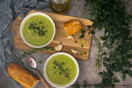 Pea-Edamame-Soup