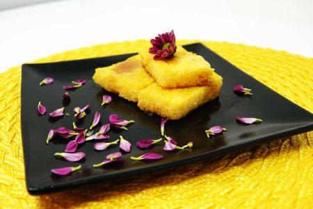Polenta Cakes recipe