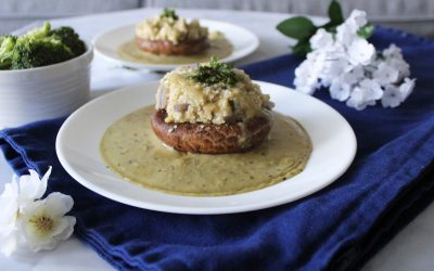 Stuffed-Stuffed-Portobello-Mushroom-with-Cauliflower-Hash-and-Brown-Gravy.1
