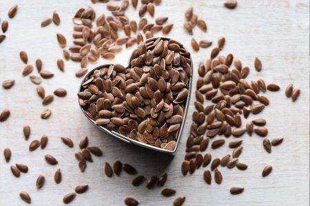 Imagen de semillas de lino