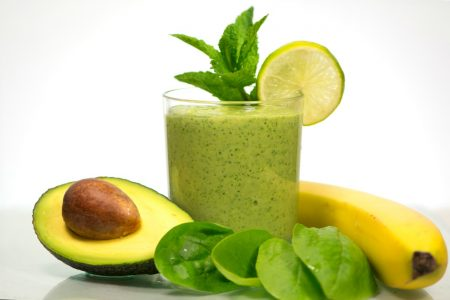 healthy Green vegetables Detox Smoothie Recipe
