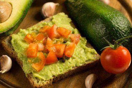 Avocdo toast veggiefest
