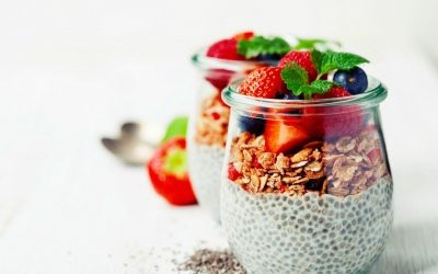 Chia pudding parfait Recipe