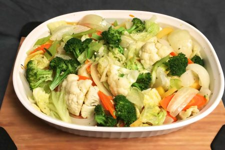 FLavorful Steamed Veggies