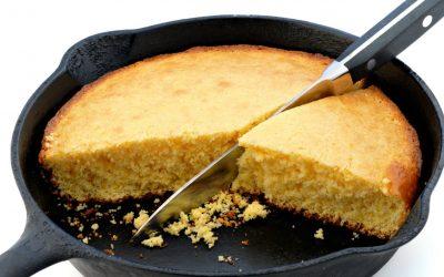 receta de pan de maíz de sartén sin gluten