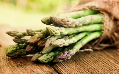 Orange steamed asparagus and artichoke hearts Recipe