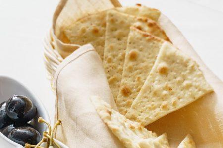 Garlic Pita Crisps