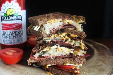 receta de reuben sandwich